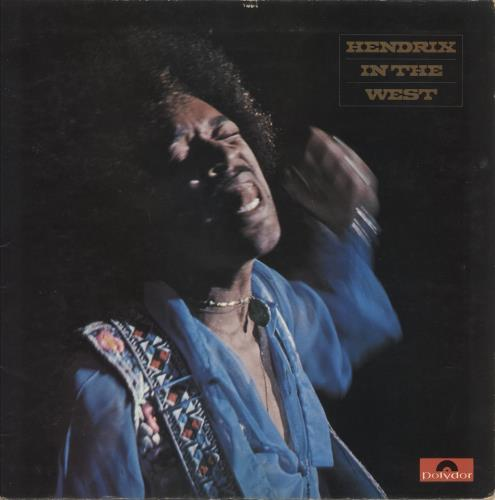 Jimi Hendrix Hendrix In The West - EX vinyl LP album (LP record) UK HENLPHE637759