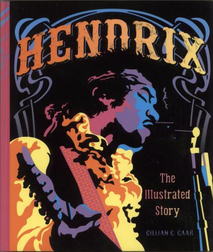 Jimi Hendrix Hendrix: The Illustrated Story book US HENBKHE698006