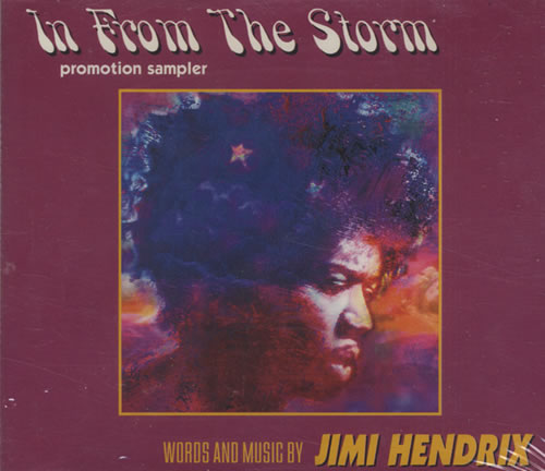 "Jimi Hendrix In From The Storm CD single (CD5 / 5"") UK HENC5IN56112"