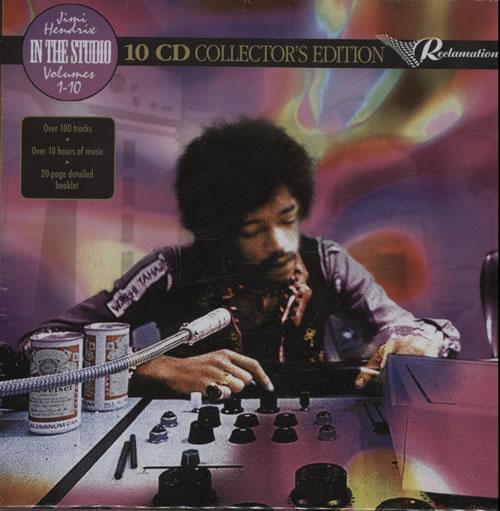Jimi Hendrix Studio Albums : jimi hendrix in the studio volumes 1 10 sealed uk cd album box set 582808 ~ Vivirlamusica.com Haus und Dekorationen