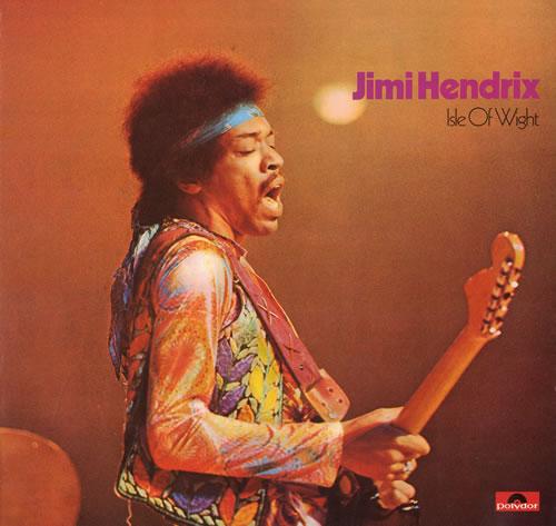 Jimi Hendrix Isle Of Wight vinyl LP album (LP record) UK HENLPIS557388