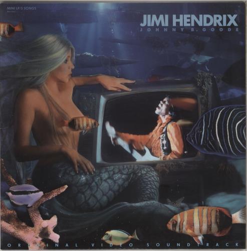 Jimi Hendrix Johnny B. Goode vinyl LP album (LP record) US HENLPJO724870