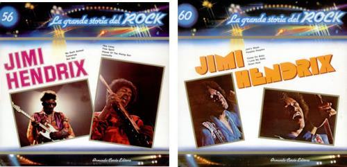Jimi Hendrix La Grande Storia Del Rock vinyl LP album (LP record) Italian HENLPLA421806