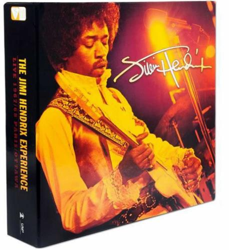Jimi Hendrix Live 1967/68 Paris/Ottawa - L - Sealed box set US HENBXLI518955