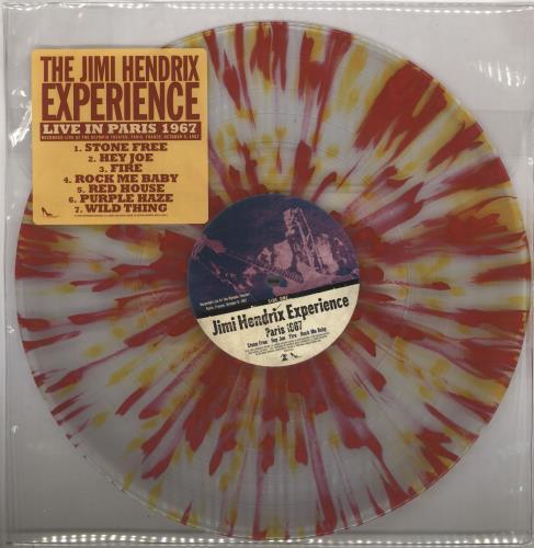 Jimi Hendrix Live 1967/68 Paris/Ottawa - L box set US HENBXLI492997