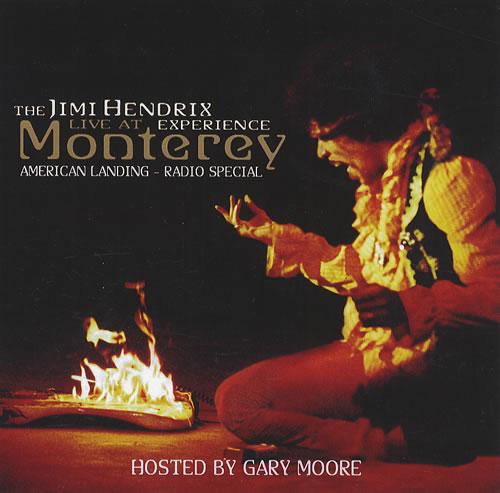 Jimi Hendrix Live At Monterey: American Landing - Radio Special CD-R acetate US HENCRLI423389