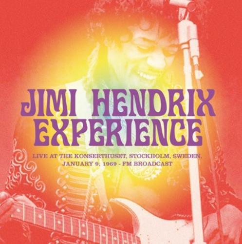 Jimi Hendrix Live At The Konserthuset, Stockholm, Sweden 1969 vinyl LP album (LP record) UK HENLPLI761875