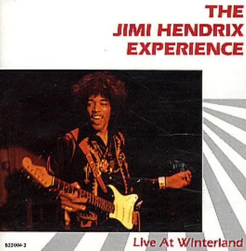 Jimi Hendrix Live At Winterland CD album (CDLP) German HENCDLI294698