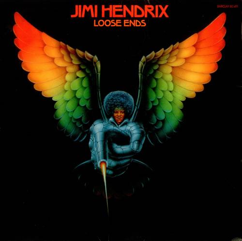 Jimi Hendrix Loose Ends vinyl LP album (LP record) French HENLPLO149158
