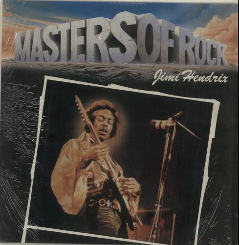 Jimi Hendrix Masters Of Rock vinyl LP album (LP record) South African HENLPMA654015