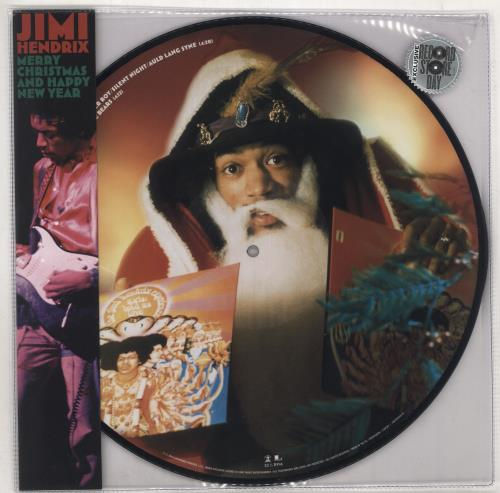 "Jimi Hendrix Merry Christmas And Happy New Year - RSD BF19 12"" vinyl picture disc 12inch picture disc record UK HEN2PME734514"