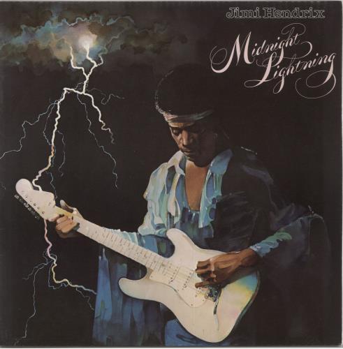 Jimi Hendrix Midnight Lightning vinyl LP album (LP record) UK HENLPMI71871