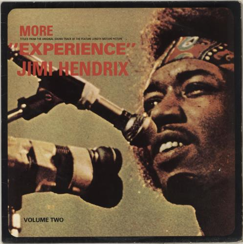 Jimi Hendrix More Experience vinyl LP album (LP record) UK HENLPMO713438