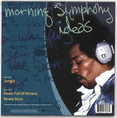 "Jimi Hendrix Morning Symphony Ideas - RSD BF16 - Yellow 10"" vinyl single (10"" record) UK HEN10MO679206"