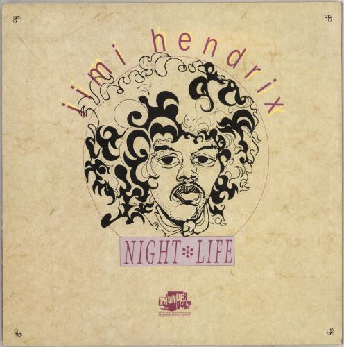 Jimi Hendrix Night Life vinyl LP album (LP record) UK HENLPNI719265