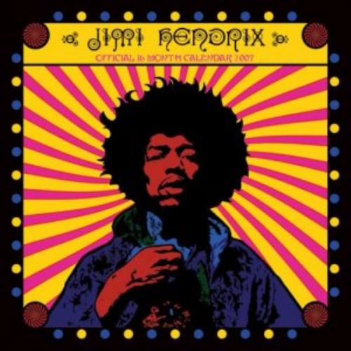 Jimi Hendrix Official Calendar 2007 calendar UK HENCAOF353622