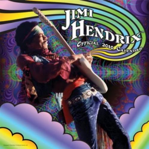 Jimi Hendrix Official Calendar 2010 calendar UK HENCAOF478367