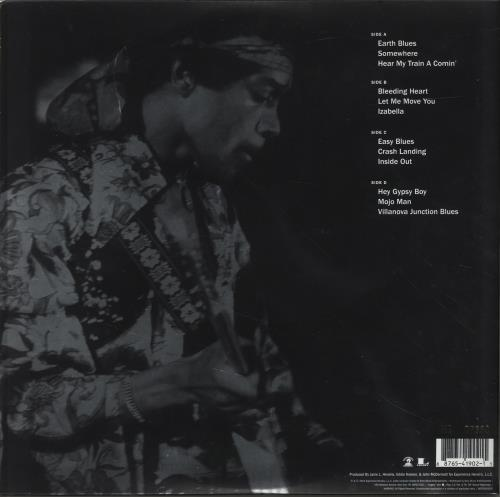 Jimi Hendrix People, Hell And Angels - 200gm 2-LP vinyl record set (Double Album) US HEN2LPE701403