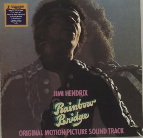 Jimi Hendrix Rainbow Bridge - 180gm vinyl LP album (LP record) UK HENLPRA679058