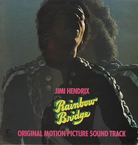 Jimi Hendrix Rainbow Bridge - glossy p/s vinyl LP album (LP record) UK HENLPRA337624