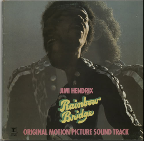 Jimi Hendrix Rainbow Bridge vinyl LP album (LP record) UK HENLPRA130225