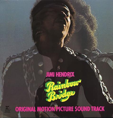 Jimi Hendrix Rainbow Bridge vinyl LP album (LP record) German HENLPRA161231