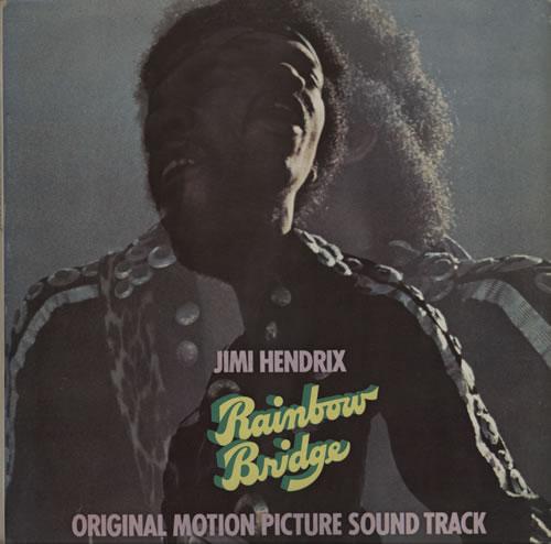 Jimi Hendrix Rainbow Bridge vinyl LP album (LP record) Korean HENLPRA583387