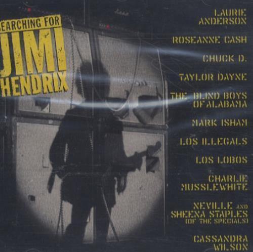 Jimi Hendrix Searching For Jimi Hendrix CD-R acetate US HENCRSE157213