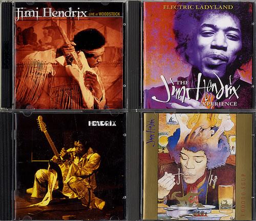 Jimi Hendrix Selection Of Albums CD album (CDLP) UK HENCDSE621777