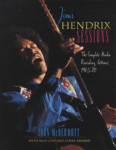 Jimi Hendrix Sessions book UK HENBKSE337308