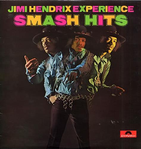 Jimi Hendrix Smash Hits - EX vinyl LP album (LP record) UK HENLPSM115390