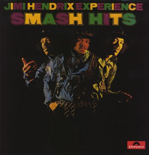 Jimi Hendrix Smash Hits vinyl LP album (LP record) UK HENLPSM230292