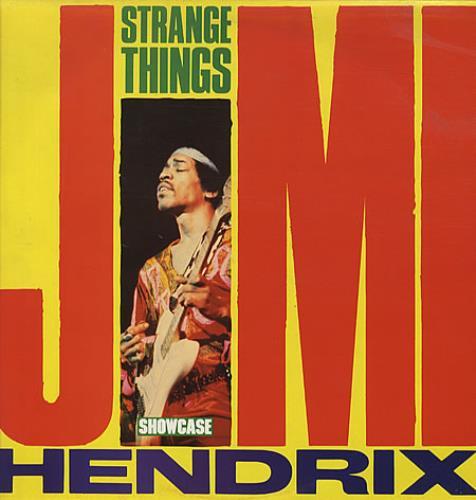 Jimi Hendrix Strange Things vinyl LP album (LP record) UK HENLPST337573