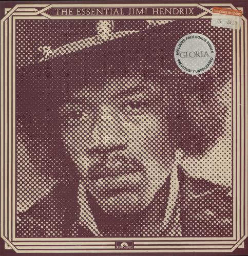 "Jimi Hendrix The Essential Jimi Hendrix + 7"" - EX 2-LP vinyl record set (Double Album) UK HEN2LTH408155"