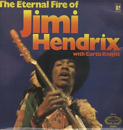 Jimi Hendrix The Eternal Fire Of Jimi Hendrix vinyl LP album (LP record) UK HENLPTH337576