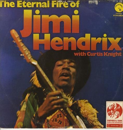Jimi Hendrix The Eternal Fire Of Jimi Hendrix vinyl LP album (LP record) Brazilian HENLPTH409529