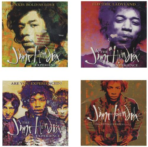Jimi Hendrix The Experience Collection Promotional
