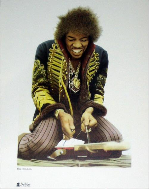 Jimi Hendrix The Jimi Hendrix Exhibition - Prey memorabilia UK HENMMTH424266
