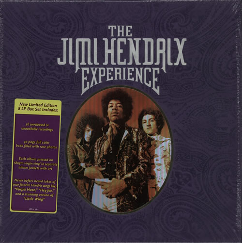 Jimi Hendrix The Jimi Hendrix Experience - Sealed Vinyl Box Set US HENVXTH576770