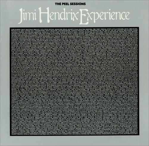 "Jimi Hendrix The Peel Sessions 12"" vinyl single (12 inch record / Maxi-single) UK HEN12TH442811"