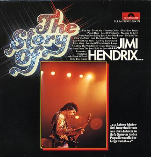 Jimi Hendrix The Story Of Jimi Hendrix 2-LP vinyl record set (Double Album) German HEN2LTH300821