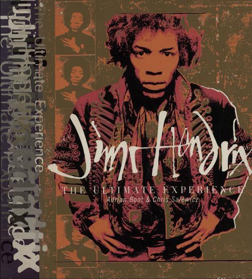 Jimi Hendrix The Ultimate Experience book UK HENBKTH642709