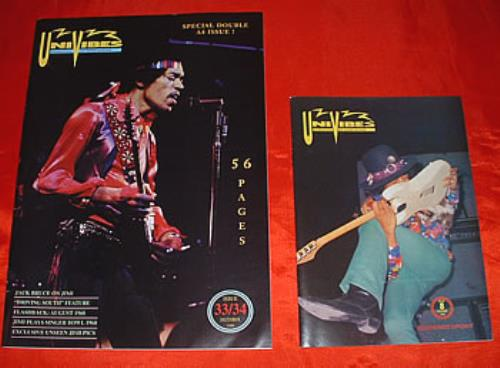 Jimi Hendrix Univibes - Set Of Forty Eight Bound Issues fanzine Irish HENFAUN317849