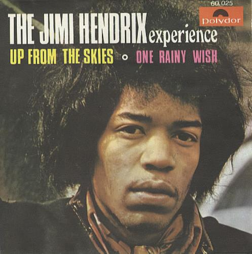 "Jimi Hendrix Up From The Skies 7"" vinyl single (7 inch record) Spanish HEN07UP339044"