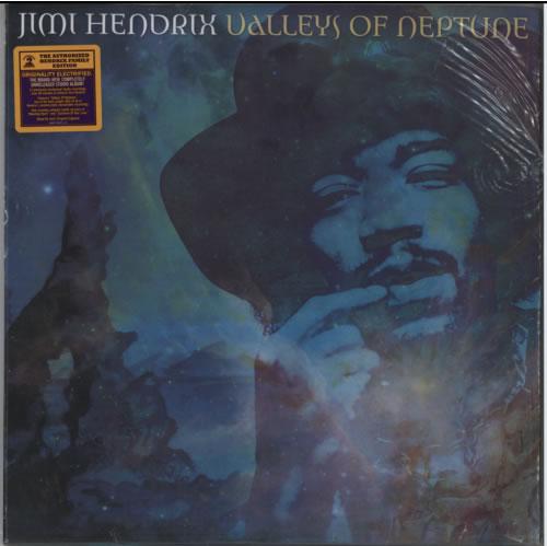 Jimi Hendrix Valleys Of Neptune - 180gm + Hype Sticker 2-LP vinyl record set (Double Album) US HEN2LVA615547