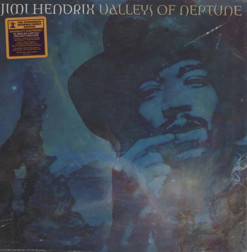 Jimi Hendrix Valleys Of Neptune - 180gm - Numbered - EX 2-LP vinyl record set (Double Album) US HEN2LVA759920