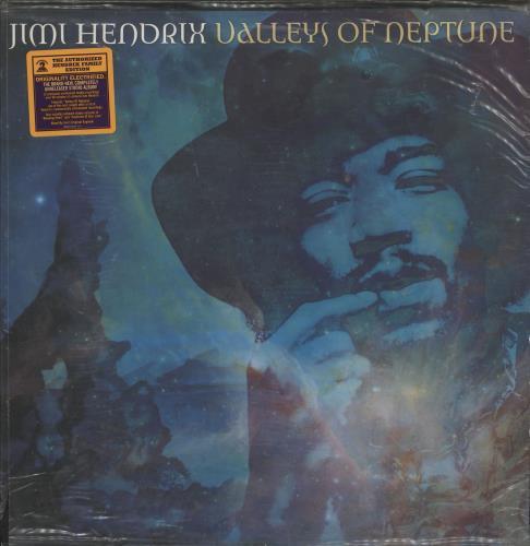 Jimi Hendrix Valleys Of Neptune - 180gm - Numbered 2-LP vinyl record set (Double Album) US HEN2LVA568550