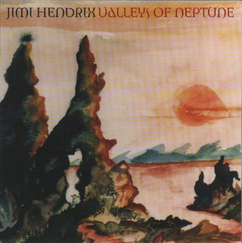 "Jimi Hendrix Valleys Of Neptune 7"" vinyl single (7 inch record) US HEN07VA495893"