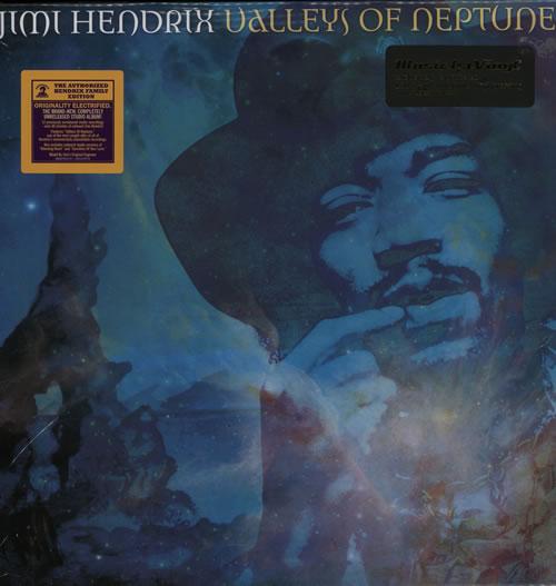Jimi Hendrix Valleys Of Neptune 2-LP vinyl record set (Double Album) UK HEN2LVA495895
