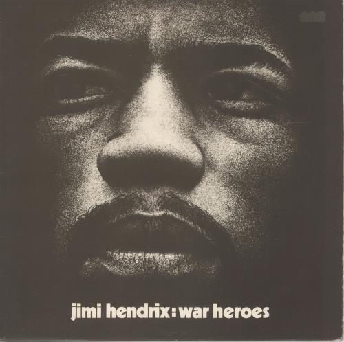 Jimi Hendrix War Heroes - Correction Stickered - VG vinyl LP album (LP record) UK HENLPWA61891
